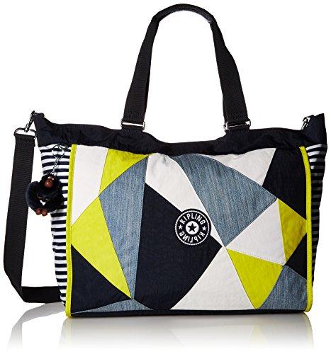 - Kipling New Shopper XL True Blue Multi Tote