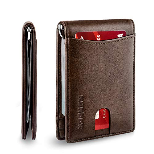 Minimalist Slim Bifold Front Pocket Wallet for
