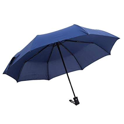 f9d25668d3ea Amazon.com: AZZ Oversized Double Folding Sun Umbrella, Golf Umbrella ...