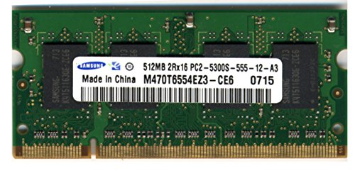 Samsung 512MB 2RX16 PC2-5300S-555-12-A3 ()