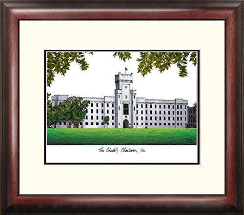 The Citadel Bulldogs Framed Lithograph Print by Landmark Publishing