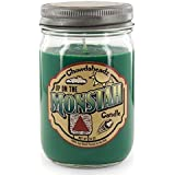 Chowdaheadz Up On The Monstah Candle 100% Soy, All Natural, Made In The USA