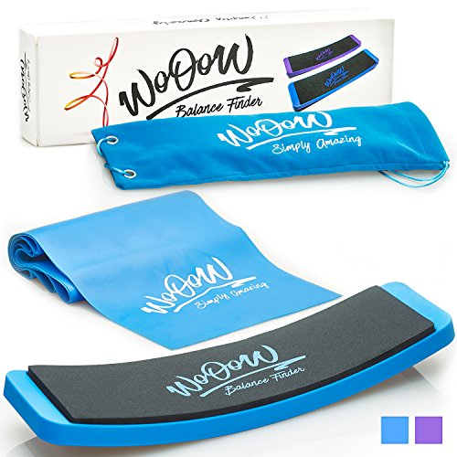 WoOoW Shop Turn Board and Stretch Band for Ballet Dance | Turning Board for Dancers Improve Turns and Pirouette Ice Skating | Bag Included