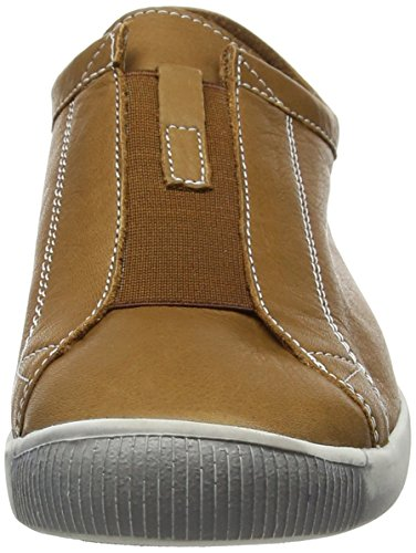 Softinos Ilo379sof - Zapatillas Mujer Marrón (Camel)