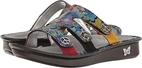 Alegria Womens Venice Slide Sandal Hippie Chic Dottie Size 40 EU (10 M US Women) ()