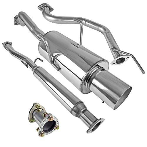 Integra Cat Gsr Acura (Spec-D Tuning MFCAT2-INT94GSR Acura Integra Gsr Exhaust Catback System)