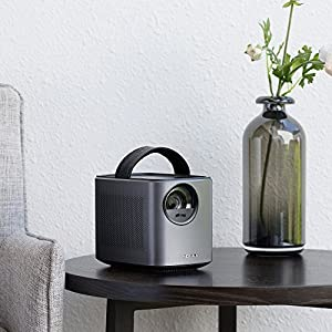 Nebula Mars Portable Cinema, Home Theater, 150 in HD Picture, 500 ANSI Lumens, 4K and 3D support, with Wi-Fi, Two 10W Speakers, 3-hour Playtime, DLP, and Android 4.4 for Music, Movies, and More from Anker