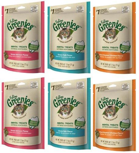 Feline Greenies Variety Pack 15oz