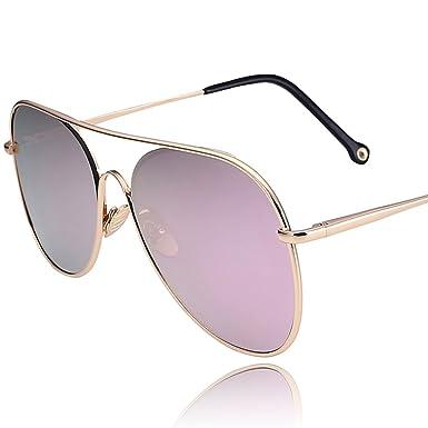 Amazon.com: Rana espejo/Big Frame anteojos de sol/gafas de ...