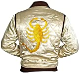 Drive Scorpion Ryan Gosling Satin chamarra–M