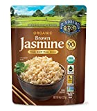 Lundberg Family Farms Organic Brown Jasmine Rice, Thai Hom Mali, 8 Ounce (Pack of 6)