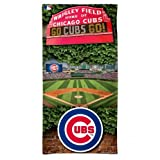 Chicago Cubs Wrigley Field WinCraft 2017 30 x 60 Full Color Limited Edition Spectra Beach Towel