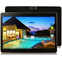 Hometom Tablet PC, 9.6Inch Tablet Android 6.0 3G Quad Core HD 1080x800, Dual Camera Blue-Tooth Wi-Fi, 16GB 3D Game Supported