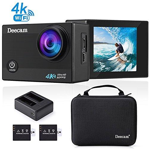 Deecam 4K Action Camera 16MP HD Wifi Waterproof Sports DV Ca