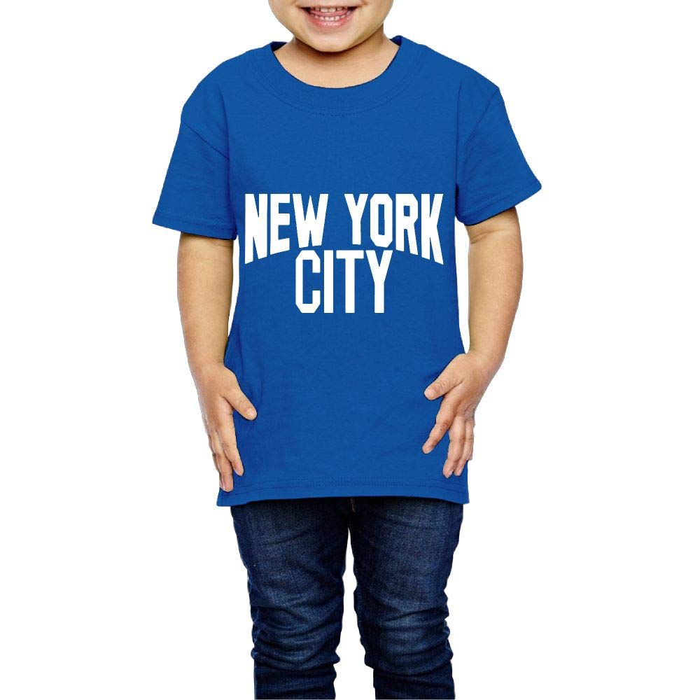 XYMYFC-E New York City 2-6 Years Old Children Short-Sleeved Tshirt