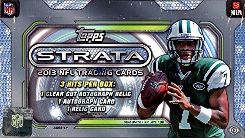 2013 Topps Strata NFL Football HOBBY box