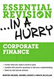 img - for Corporate finance (Essential Revision in a Hurry) book / textbook / text book