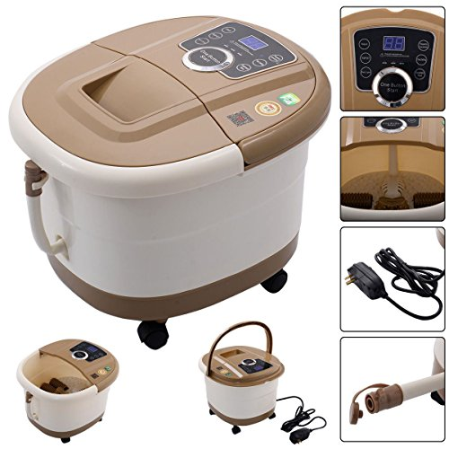 Portable-Foot-Spa-Bath-Massager-Bubble-Heat-LED-Display-Vibration-Infrared-Relax by Nature Republic