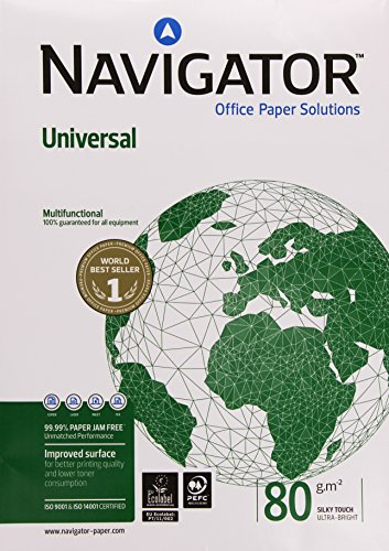 Navigator Universal Paper Multifunctional Ream-Wrapped 80gsm A3 White Ref NAV1017 [500 Sheets] -
