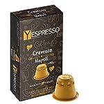 100 capsule PASSIONESPRESSO NERA LOLLO CAFFE' compatibili Nespresso