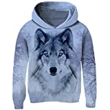 Best The First Years Gift 9 Year Old Girls - Funnycokid Boys Girls Hoodies All Over Print Wolf Review