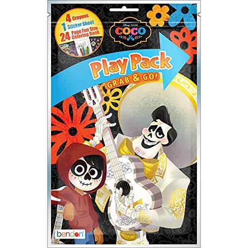 Disney Bendon 42219 Coco 24-Page Coloring Play -