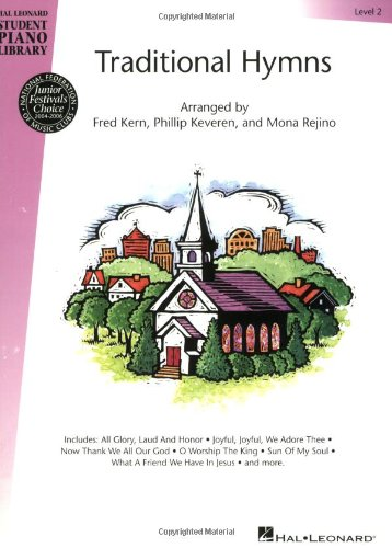 (Traditional Hymns Level 2: Book Only - Hal Leonard Student Piano Library)