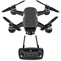 Skin for DJI Spark Mini Drone Combo - Carbon Fiber| MightySkins Protective, Durable, and Unique Vinyl Decal wrap cover | Easy To Apply, Remove, and Change Styles | Made in the USA