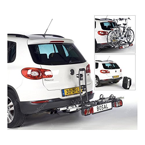 Bosal Tourer 070-531 Portabicicletas para 2 bicicletas o bicicletas eléctricas, incluye bolsa: Amazon.es: Jardín