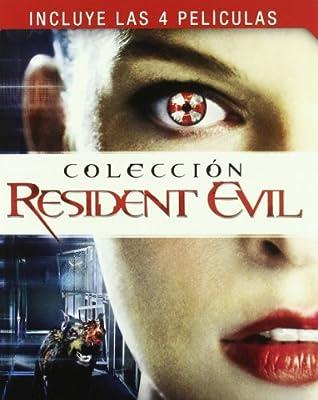Resident Evil 1-4 - Bd Qua [Blu-ray]: Amazon.es: Milla Jovovich, Milla Jovovich: Cine y Series TV