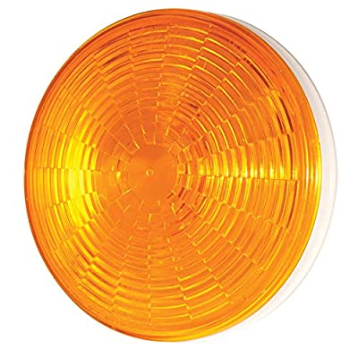 "Grote 54643 Yellow SuperNova 4"" NexGen LED Stop Tail Turn Light (Grommet Mount, Male Pin): Automotive"