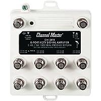 CMSTCM3418 - CHANNEL MASTER CM-3418 Ultra Mini Distribution Amp (8 Port)