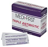 Triple Antibiotic Ointment Packets by Medi-First - MS60772 (25) (4 Pack)