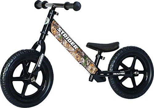 Strider - 12 Classic Balance Bike, Ages 18 Months to 3 Years, Realtree