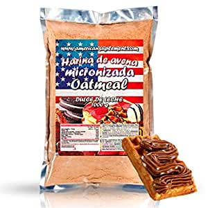 American Suplement - Harina de Avena Micronizada - 1kg - Dulce de leche