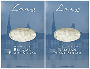 Lars' Own Belgian Pearl Sugar 8 Ounces (Pack of 2)