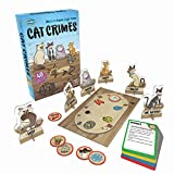 Product picture for ThinkFun Cat Crimes Logic Game and Brainteaser for Boys and Girls Age 8 and Up - A Smart Game with a Fun Theme and Hilarious Artwork