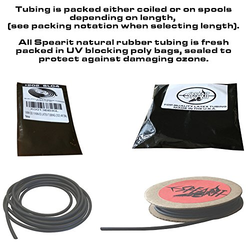 1//8in OD 1//16in ID Micro Latex Rubber Tubing ONE CONTINUOUS PIECE Select Color and Length