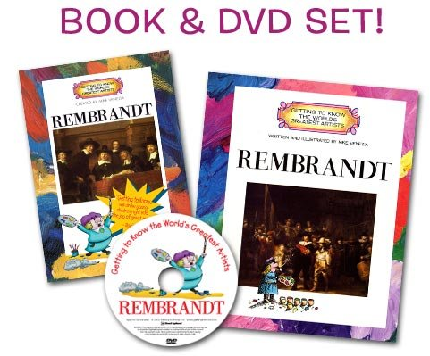 Rembrandt (Artist Book & DVD Set) (Getting To Know The World's Greatest Artists)