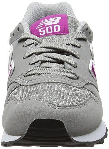 Zapatilla Baja New Mujer Gw500 Para Fucsia Gris Balance fTq8xZ