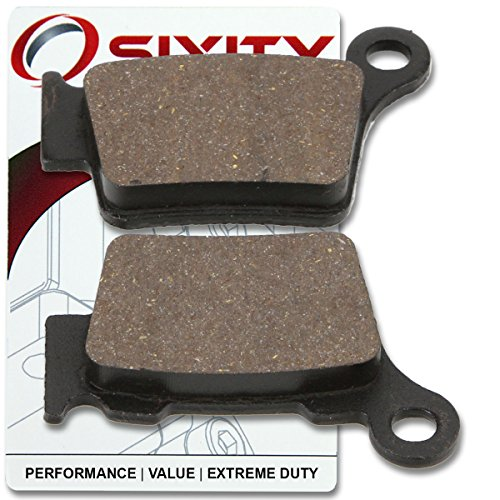 Complete Rear Brake (Sixity Rear Organic Brake Pads 2012-2015 KTM 350 EXC-F Set Full Kit Complete)