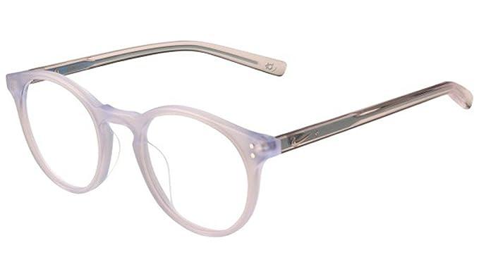 d6b771037a4 Eyeglasses NIKE 36 KD 450 MATTE CRYSTAL CLEAR BLUE at Amazon Men s ...