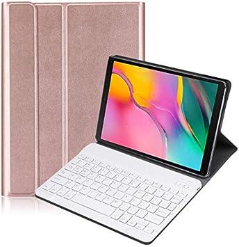 J&H Lenovo Tab M10 Plus 10.3 pulgadas funda folio teclado (retroiluminación de 7 colores), teclado inalámbrico Bluetooth para Lenovo Tab M10 Plus 10.3 ...