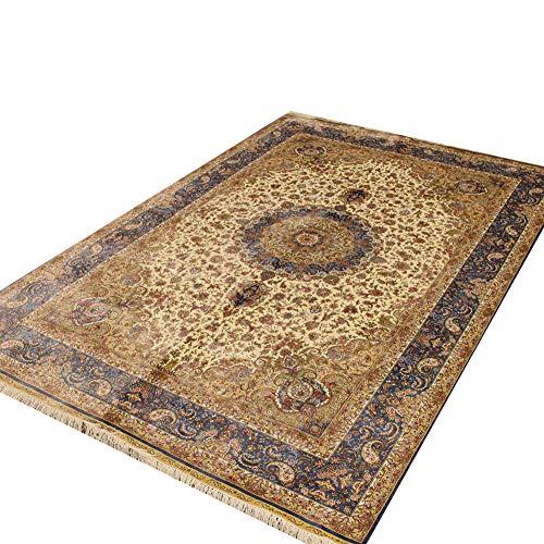 Camel Carpet Hand Knotted Traditional Rug Living Room Carpet ()