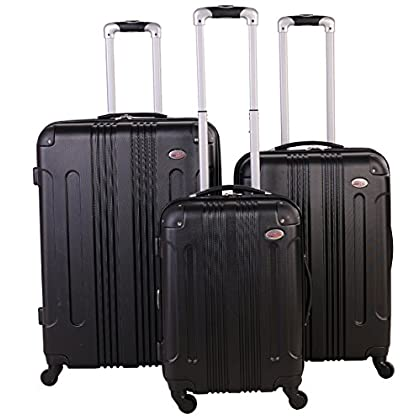Image of American Flyer Kova Hardside 3-Piece Luggage Set, Black, One Size