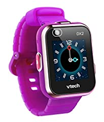 The perfect tech for kids, Kidizoom® Smartwatch DX2 by VTech® lets them take pictures, videos, play games, tell time and more! Featuring a new sleek and stylish design, this durable smartwatch includes 55 digital and analog customizable watch...