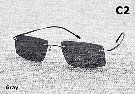 Aprigy The Matrix Style - Gafas de sol polarizadas para hombre, gris: Amazon.es: Deportes y aire libre