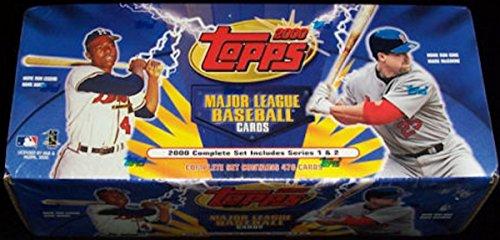 2000 Topps MLB Baseball Factory Sealed 478 Card Set Inclu...