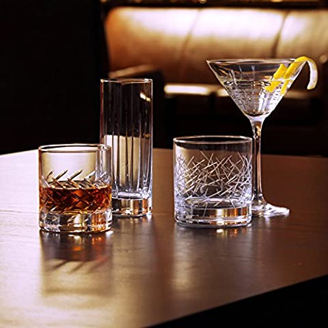 Schott Zwiesel Tritan Crystal Glass Distil Barware Collection Cocktail Glasses