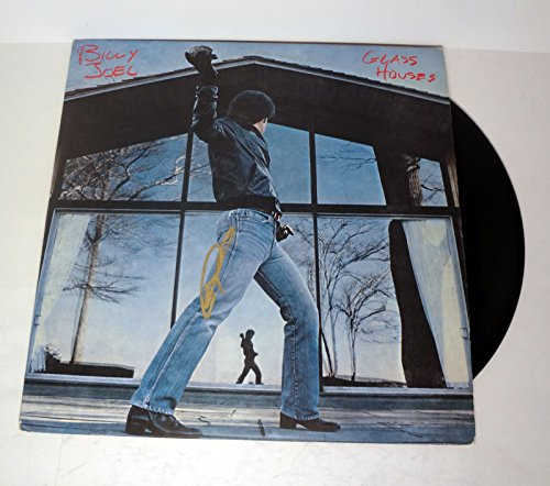 Billy Joel The Piano Man Signed Autograph Glass Houses Vinyl Record Album COA